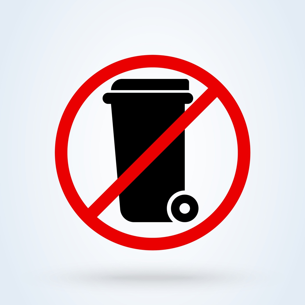 Batteries Not Allowed in County Waste Containers