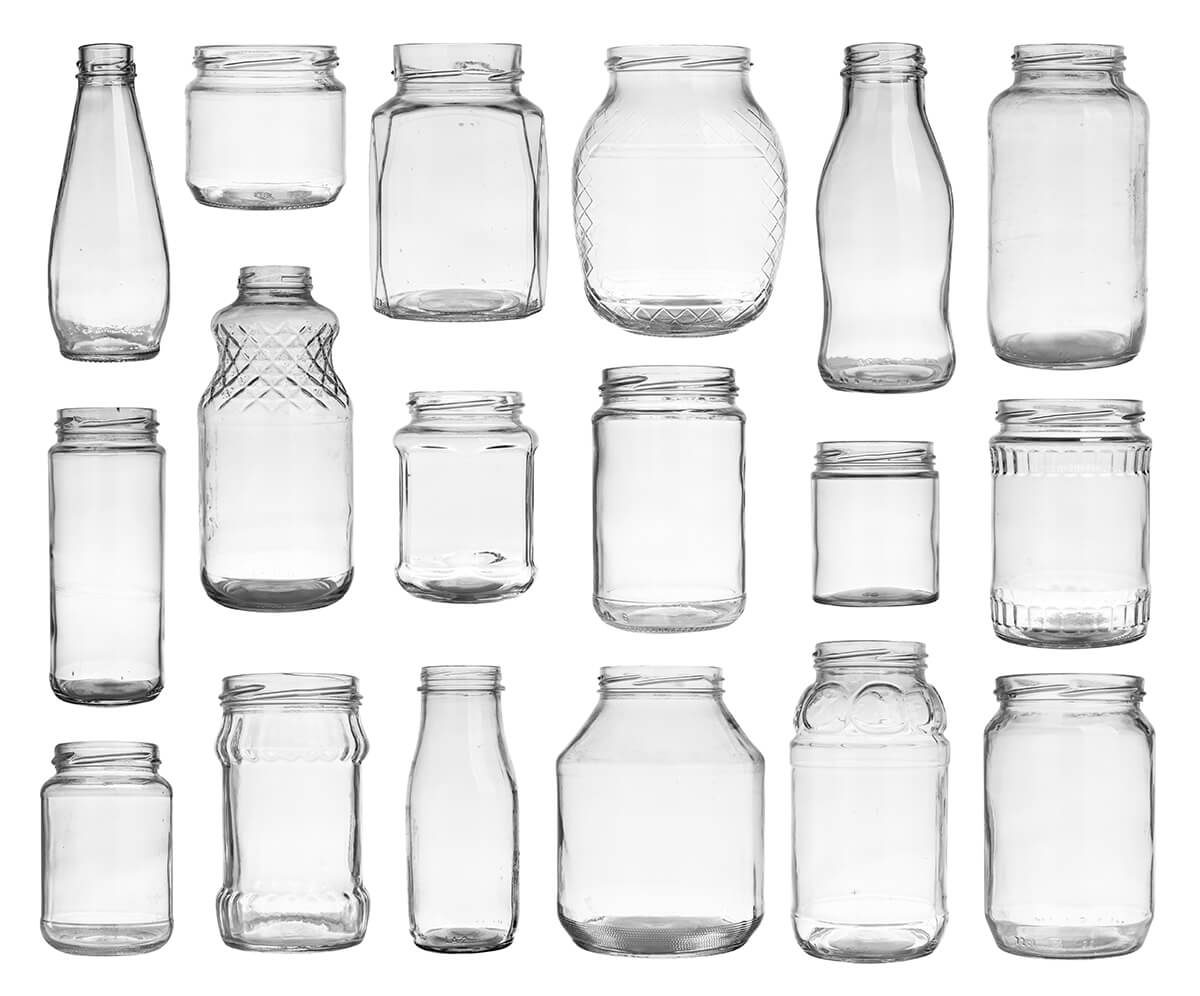 Recycle Glass Bottles and Jars